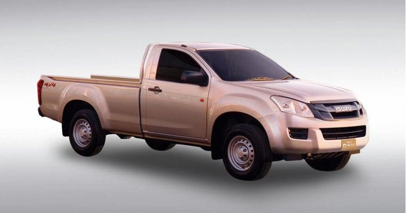 Isuzu D Max Single Cab 2.5 VGS MT
